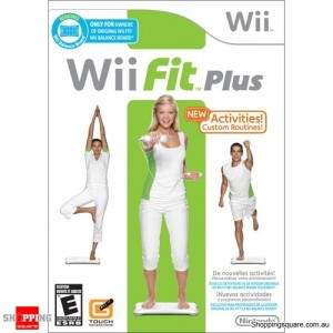 Fit Plus Game Only - Nintendo Wii (pre-owned)