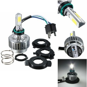 3000LM H4 LED 6500K Motorcycle Motorbike Headlight Adjustable Hi/Lo Beam Lights 32W  DC 9-16V