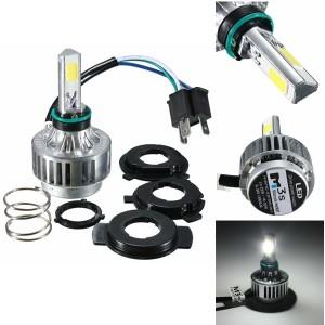 3000LM H4 LED 6500K Motorcycle Motorbike Headlight Adjustable Hi/Lo Beam Lights 32W  DC 9-16V
