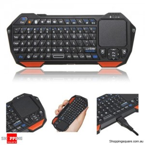 Mini Bluetooth V3.0 Wireless Keyboard Touchpad Mouse For Windows Android iOS