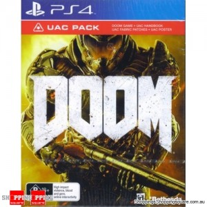 DOOM UAC Pack PS4 Playstation 4 GAME