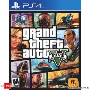 Grand Theft Auto V GTA5 - PS4