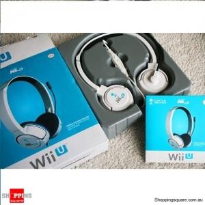Turtle Beach Ear Force NLa Gaming Headset for Nintendo Wii U - White