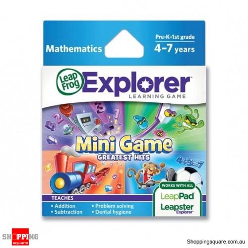 LeapFrog Explorer Mini Game Greatest Hits Game