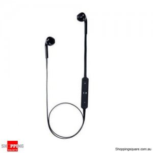 Bluetooth V4.1 Wireless Sports Stereo Headset for iPhone Samsung Black Colour