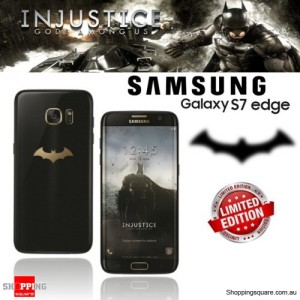 Samsung Galaxy S7 Edge Dual Sim G9350 Smartphone Batman with R322