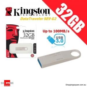 Kingston DataTraveler SE9 G2 32GB Metal Case USB Flash Drive 3.0