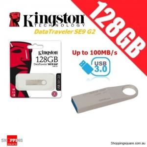 Kingston DataTraveler SE9 G2 128GB Metal Case USB Flash Drive 3.0