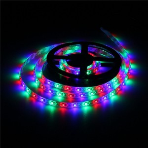 2M 3528 120LED 9.6W USB LED Strip Light TV Background Lighting IP65 Kit 5V Colour RBG