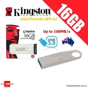 Kingston DataTraveler SE9 G2 16GB Metal Case USB Flash Drive 3.0