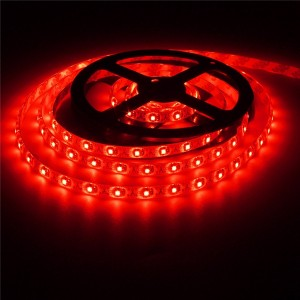 2M 3528 120LED 9.6W USB LED Strip Light TV Background Lighting IP65 Kit 5V Colour Red