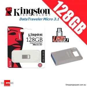 Kingston DataTraveler Micro 3.1 128GB USB Flash Drive Memory Stick Pendrive