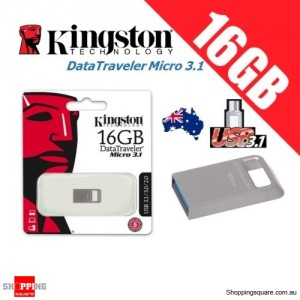Kingston DataTraveler Micro 3.1 16GB USB Flash Drive Memory Stick Pendrive
