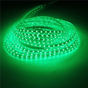 10M IP67 Waterproof 600SMD 5050 LED Light Strip 220V - Green