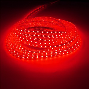 10M IP67 Waterproof 600SMD 5050 LED Light Strip 220V - Red
