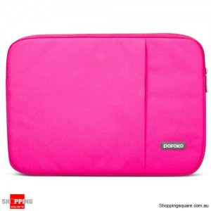 11 Inch POFOKO Laptop Sleeve Case Bag For Apple MacBook Air Pink Colour