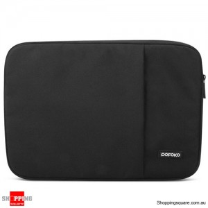 13 Inch POFOKO Laptop Sleeve Case Bag For Apple MacBook Air Pro Black Colour
