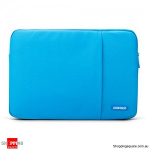 13 Inch POFOKO Laptop Sleeve Case Bag For Apple MacBook Air Pro Blue Colour