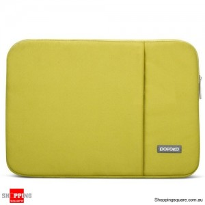 13 Inch POFOKO Laptop Sleeve Case Bag For Apple MacBook Air Pro Green Colour