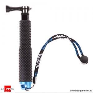Waterproof Handheld Tripod Monopod Selfie Stick Pole for GoPro Hero 5 4 3+ 3 2 1 Diving Blue Colour