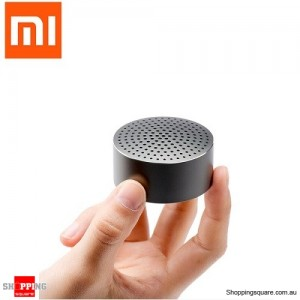 Genuine Xiaomi Aluminium Alloy Portable Mini Bluetooth Speaker for iPhone Samsung Gray Colour