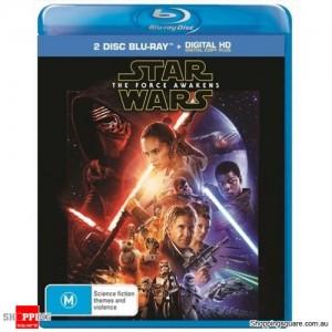 Star Wars: Episode VII - The Force Awakens Blu-Ray Movie - Bluray Starwars