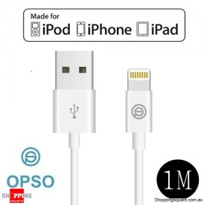 [Apple MFi Certified] OPSO Lightning to USB Sync Charging Cable for iPhone 6S 6 Plus SE 5S 5C 5 iPad Air Mini iPod Touch