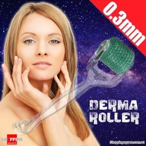Anti-aging Skin Needling Derma Roller for Wrinkles Acne Scars Health 0.3mm
