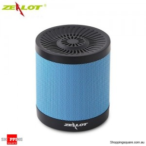 ZEALOT S5 2000mAh Outdoor Portable Wireless Bluetooth 4.0 Speaker TF Card AUX FM Radio USB Drive Black&Blue Colour