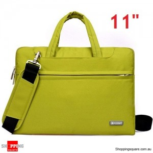 11 inch Sleeve Carry Case Cover for Dell Macbook Air Ultrabook Laptop Green Colour