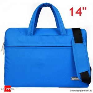 14 inch Sleeve Carry Case Cover for Dell Macbook Air Pro Ultrabook Laptop Blue Colour