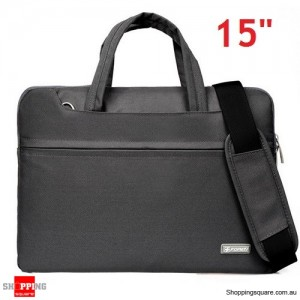 15 inch Sleeve Carry Case Cover for Dell Macbook Pro Ultrabook Laptop Grey Colour