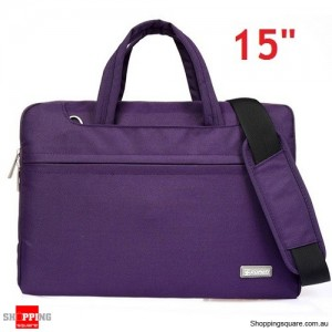 15 inch Sleeve Carry Case Cover for Dell Macbook Pro Ultrabook Laptop Purple Colour