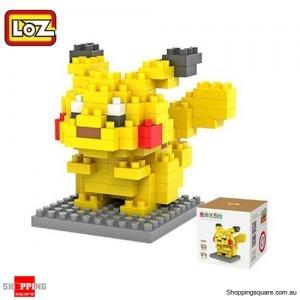 LOZ DIY Diamond Pokemon Nano Building Block - Pikachu