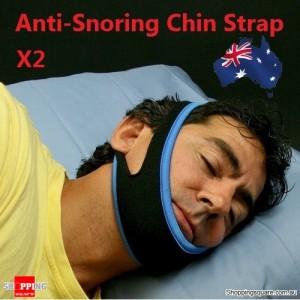 2X Anti-Snoring Chin Strap