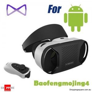 Baofeng Mojing 4 Virtual Reality VR 3D Glasses Headset for Movie Game Android Phone Samsung HTC