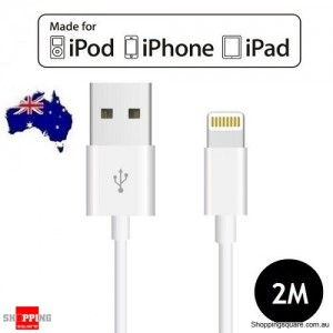 [Apple MFi Certified] 2M Lightning to USB Sync Charging Cable for iPhone X 8 7 SE iPad Air Mini