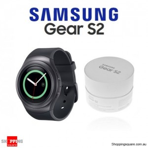 Samsung Galaxy Gear S2 R7200 Smart Watch Sport Wearable Fit Health Gray