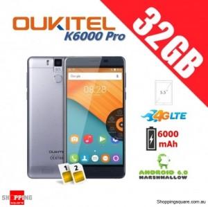 Oukitel K6000 Pro Dual Sim 4G 32GB Unlocked Smartphone Black