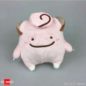 Pokemon Transform Ditto Doll Plush Toy Animal for Gift - Clefairy