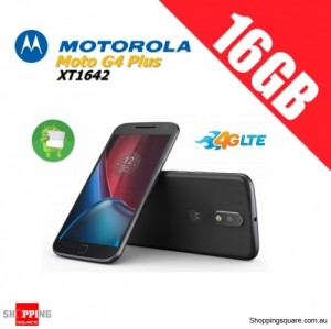 Motorola Moto G4 Plus XT1642 16GB Unlocked Smart Phone Black