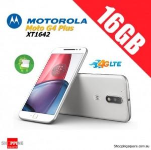 Motorola Moto G4 Plus XT1642 16GB Unlocked Smart Phone White