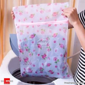 3pcs 40x50cm Clothes Washing Laundry Bag Mesh Socks Bra Lingerie