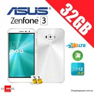 Asus Zenfone 3 ZE520KL 32GB 4G LTE Unlocked Smart Phone Moonlight White