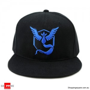 Pokemon Go Stylish Trainer Team Baseball Hat Mystic InstInct Valor Blue Colour