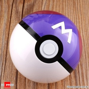 7cm Pokemon Pop-up Plastic Pokeball BALL Toy Lovely Cute for Gift Go Pikachu - Master Ball