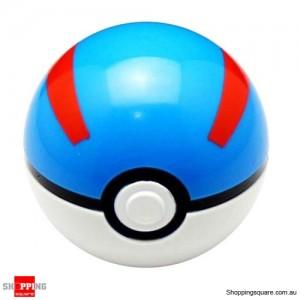 7cm Pokemon Pop-up Plastic Pokeball BALL Toy Lovely Cute for Gift Go Pikachu - Great Ball