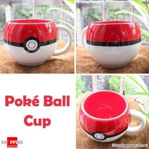 Pokemon Ceramic Poke Ball 3D Figural Coffee Water Cup Mug Go