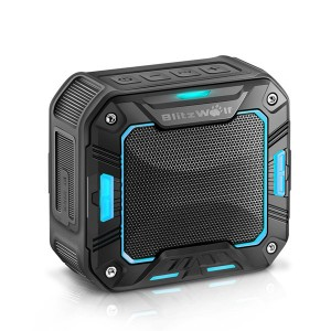 IP65 Water-resistant 2000mAh BlitzWolf® BW-F2 Outdoor Wireless Bluetooth Speaker Blue Colour