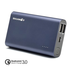 9000mAh 18W QC3.0 Dual USB Port BlitzWolf® BW-P3 Power Bank With Power3S Tech [Qualcomm Certified]
